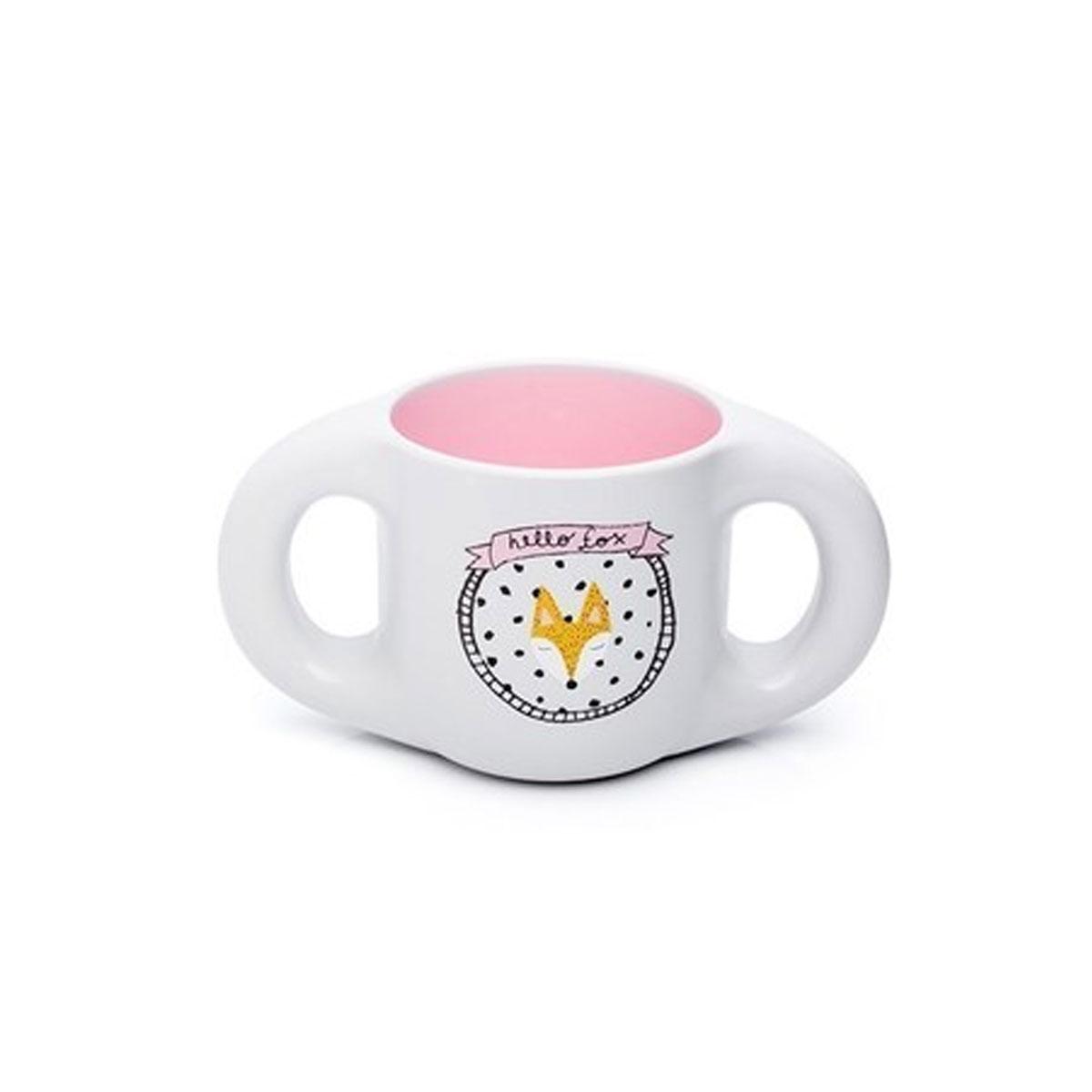 Εκπαιδευτικό ποτήρι κυπελο 200 ml fox pink suavinex - Mommys Baby dd8cf0a5564