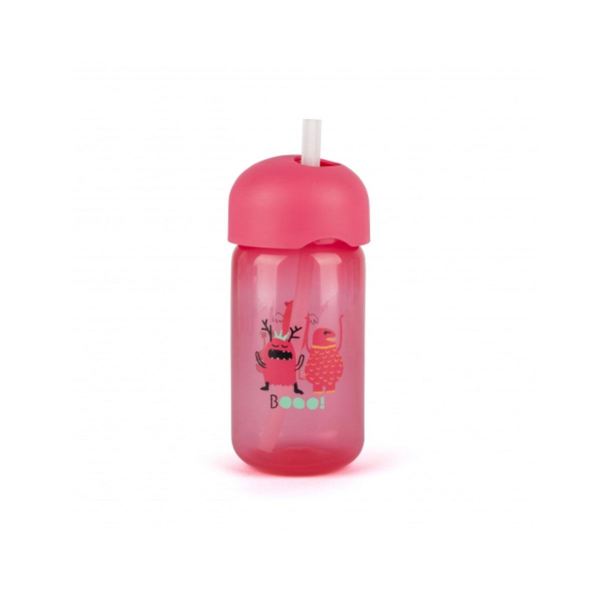 Παγουρι με καλαμάκι σιλικονης Booo pink suavinex - Mommys Baby a3f58a62314