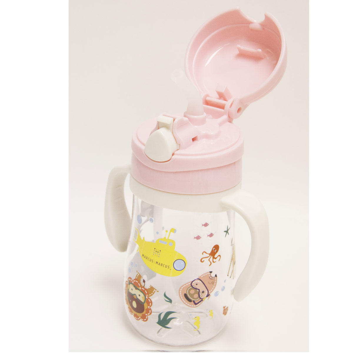 Παγούρι με καλαμάκι σιλικόνης pig marcus   marcus - Mommys Baby 66ed844801b